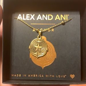 Alex and Ani Anchor necklace
